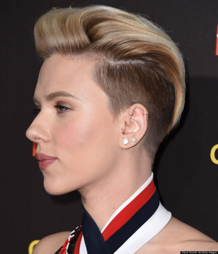 LOS ANGELES, CA - JANUARY 31: Scarlett Johansson arrives at the 2015 G'Day USA Gala Featuring The AACTA International Awards Presented By Qantas at Hollywood Palladium on January 31, 2015 in Los Angeles, California. (Photo by Steve Granitz/WireImage)